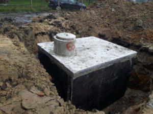 Zbiornik betonowy na szambo